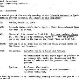 Correspondence, 1968-02-21....