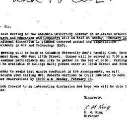 Correspondence, 1970-02-09....