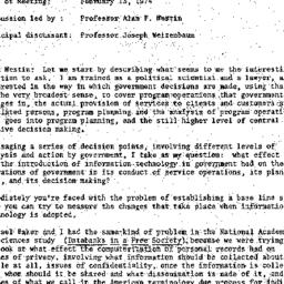 Minutes, 1974-02-13. Knowle...