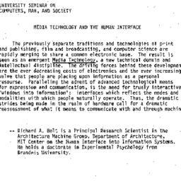 Announcements, 1982-10-28. ...