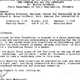 Announcements, 1993-01-21. ...