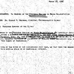 Announcements, 1966-03-28. ...