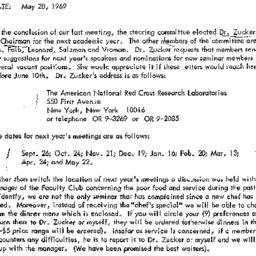 Announcements, 1969-05-28. ...