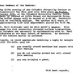 Announcements, 1976-01-20. ...