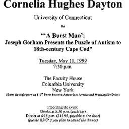 Announcements, 1999-05-11. ...