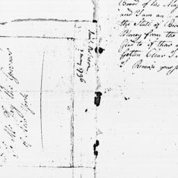 Document, 1796 May 3