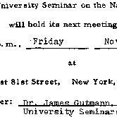 Announcements, 1976-11-19. ...
