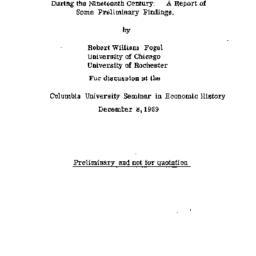 Speaker's notes, 1969-12-08...