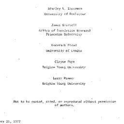 Background paper, 1977-03-0...
