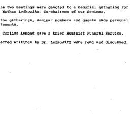 Minutes, 1978-03-08. Death,...