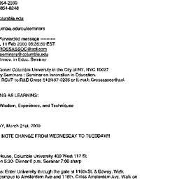Announcements, 2000-02-11. ...