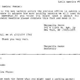 Correspondence, Latin Ameri...