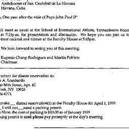 Announcements, 1998-04-01. ...