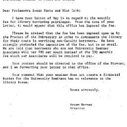 Correspondence, 1987-05-15....