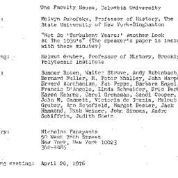 Minutes, 1976-03-18. Twenti...