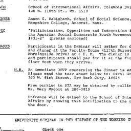 Announcements, 1976-11-17. ...