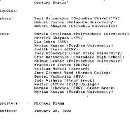 Minutes, 1993-01-25. Twenti...