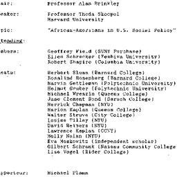 Minutes, 1993-04-20. Twenti...