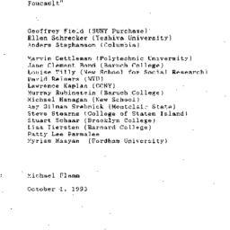 Minutes, 1993-09-21. Twenti...
