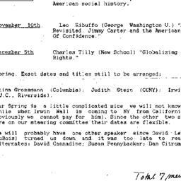Correspondence, Twentieth-C...