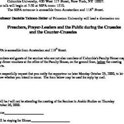 Announcements, 2000-10-26. ...