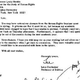 Correspondence, 1978-04-27....
