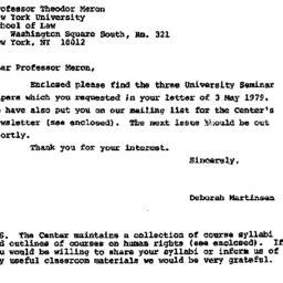 Correspondence, 1978-05-08....