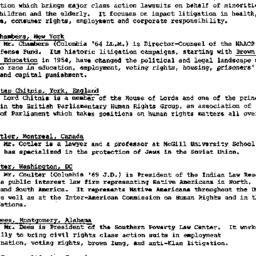 Handouts, 1986-11-17. Human...