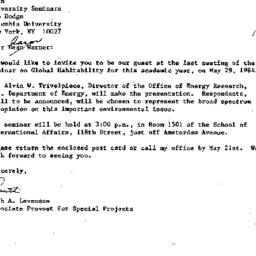 Correspondence, 1984-04-19....