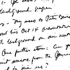 Correspondence, 1985-10-05....