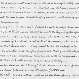 Document, 1820 January 16