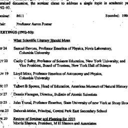 Background paper, Scientifi...