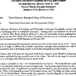 Announcements, 1998-04-06. ...