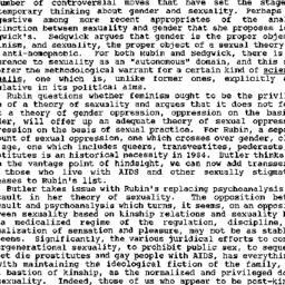 Minutes, 1991-12-05. Homose...