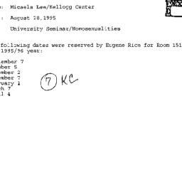 Correspondence, 1996-08-28....