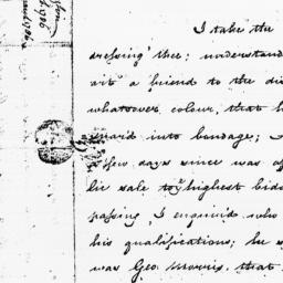 Document, 1786 February 22