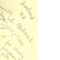 Correspondence, 1970-02-16....