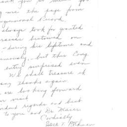 Correspondence, 1970-02-14....