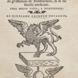 Opera Nuova di Fortificare,...