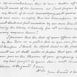 Document, 1784 February 06