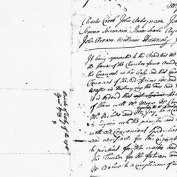 Document, 1733 April 25