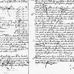 Document, 1722 March 12