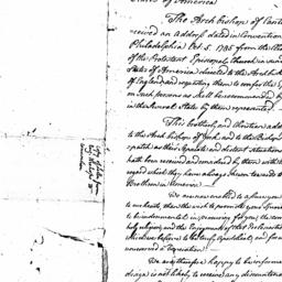 Document, 1785 October n.d.
