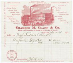 Charles M. Clapp & Co.. Bill - Recto