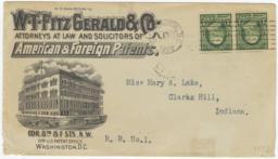W. T. Fitzgerald & Co.. Envelope - Recto
