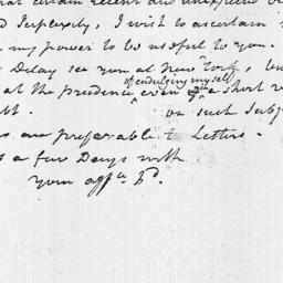 Document, 1813 October n.d.