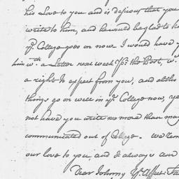 Document, 1763 August 09