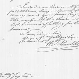 Document, 1783 March 11