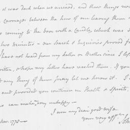 Document, 1775 November 27