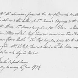 Document, 1784 January 04